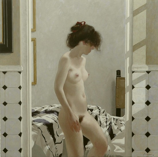NEIL RODGER, VIEW FROM THE BATHROOM 2010, OIL ON CANVAS