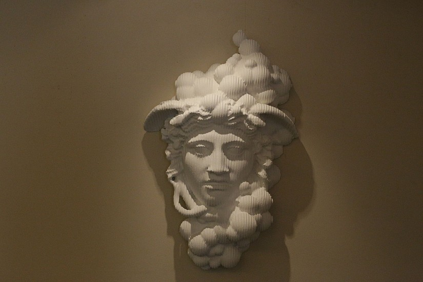 JOP KUNNEKE, BUBBLE HEAD MEDUSA