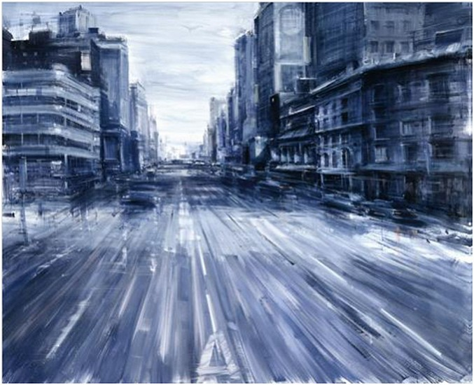 ALESSANDRO PAPETTI, NEW YORK 2012, OIL ON CANVAS