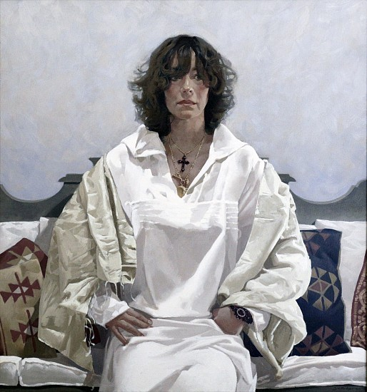 NEIL RODGER, PORTRAIT OF GINA 2007, Oil on Canvas