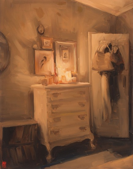 SASHA HARTSLIEF, CLAIRE'S ROOM 2018, Oil on Canvas