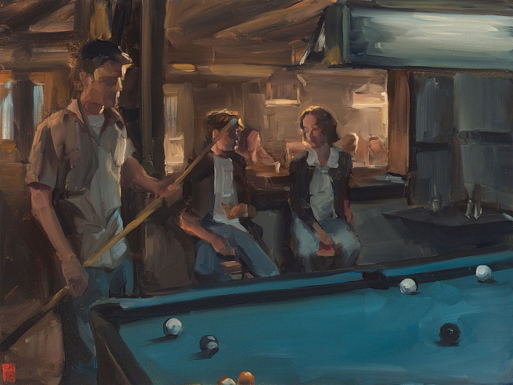 SASHA HARTSLIEF, POOL 2018, Oil on Canvas