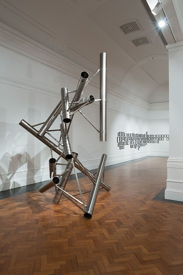 BETH DIANE ARMSTRONG, RECURSION OF THE INDEFINITE - 1 2017, STAINLESS AND MILD STEEL