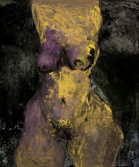 GAIL CATLIN, GOLD NUDE 2019, C-type Photographic print on Fujicolour Crystal Archive Pearl Paper, mounted on Diasec