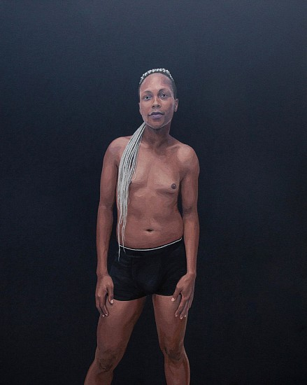 KATE ARTHUR, OLWETHU 2019, Oil on Canvas
